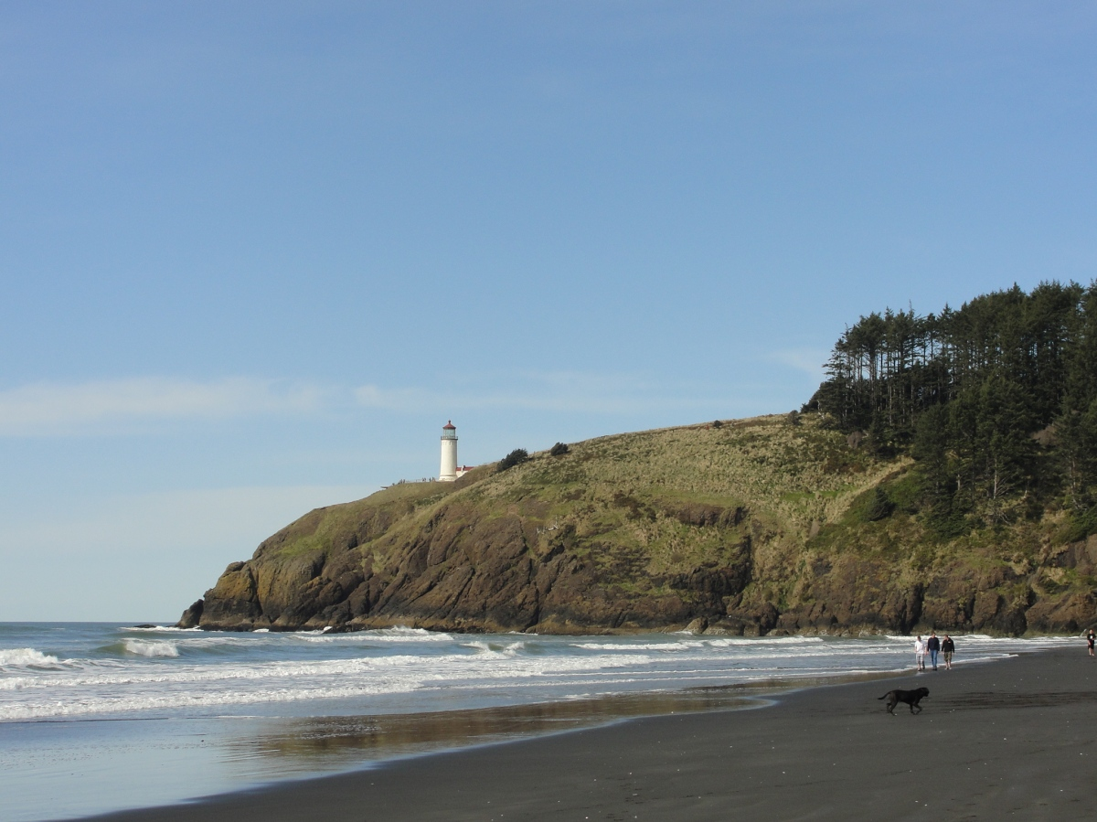 Camping at Cape Disappointment State Park (with a baby)