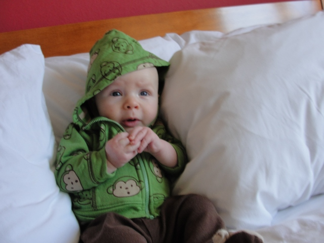 Baby's First Hotel Room