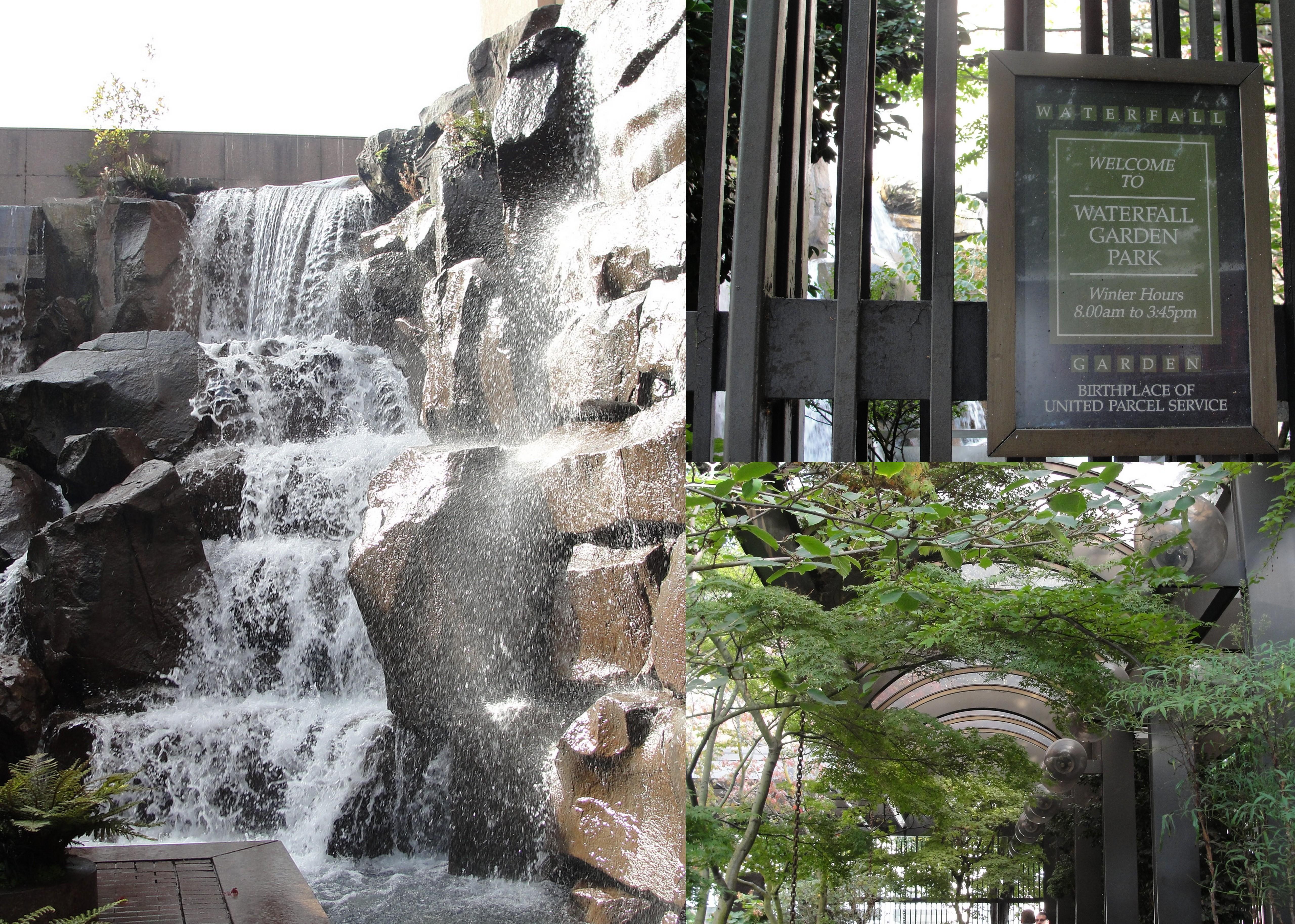 escape to seattle u0027s waterfall garden park wildtalesof com