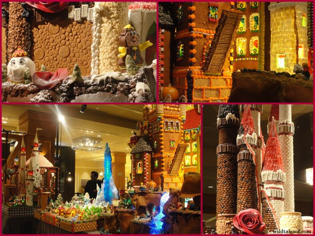 Seattle Sheraton's Gingerbread Village