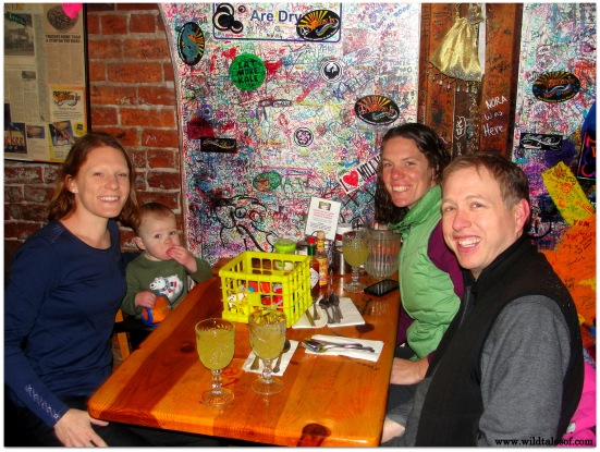 Brunch at the Squeeze In in Truckee, CA