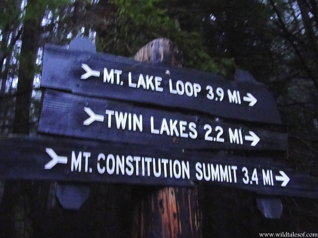 Mountain Lake Loop Moran State Park