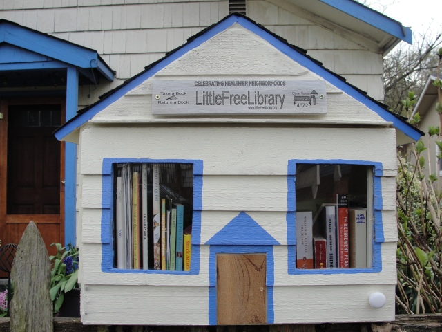 Little Free Library Madison Valley Seattle