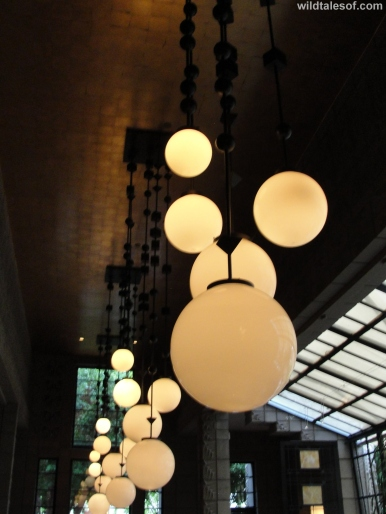 Lighting Wright's Restaurant Arizona Biltmore