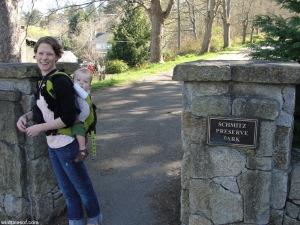 Entrance Schmitz Preserve Park