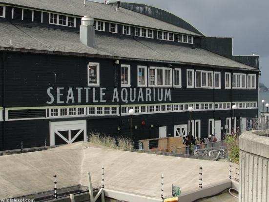 Seattle Aquarium Sign