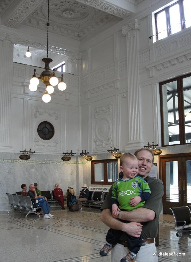 Seattle's King Street Train Station | WildTalesof.com