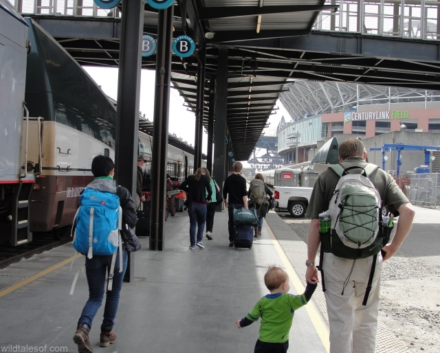 Travel by Train with a Toddler: Amtrak Cascades | WildTalesof.com
