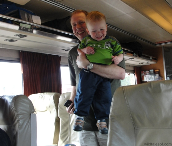 Travel by Train with a Toddler | WildTalesof.com