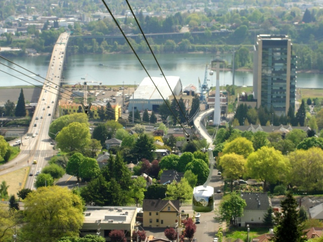 Portland, OR's 4 T Trail: Tram | WildTalesof.com