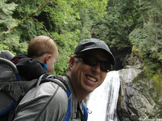 Dad & Toddler: Twin Falls, Olallie State Park | WildTalesof.com