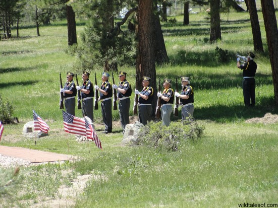 Memorial Day Ceremony: Bergen Park, Colorado | WildTalesof.com