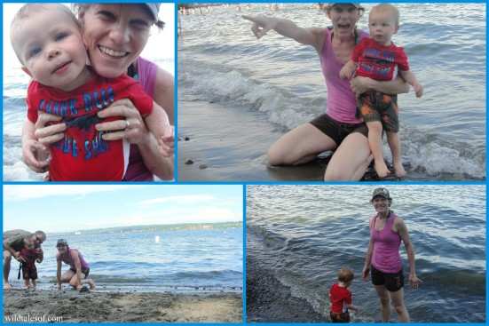 Beach Play in Seattle's Madison Park on Lake Washington | WildTalesof.com