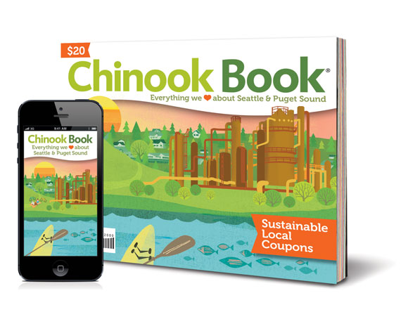 Chinook Book-Seattle & Puget Sound 2014 Giveaway