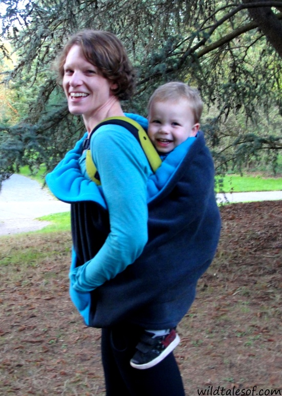 Adventure Gear: Staying Warm and Dry with Kowalli's Carrier Cover | WildTalesof.com