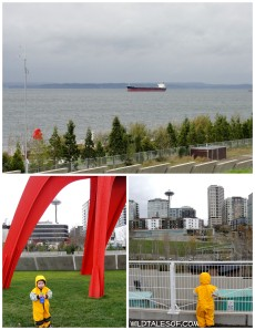 Rainy Day Adventure + Lunch: Seattle's Olympic Sculpture Park | WildTalesof.com