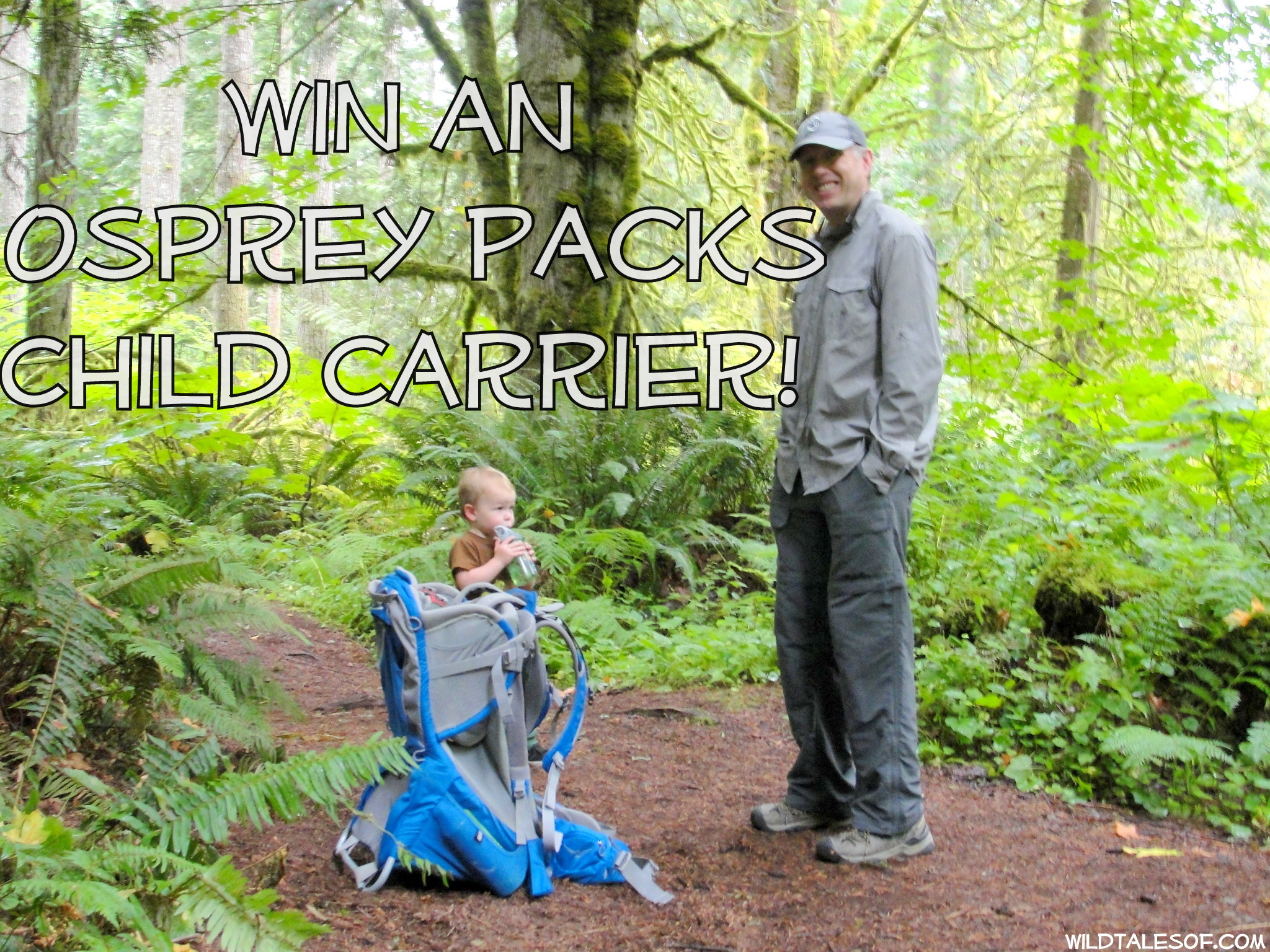Passports with Purpose: Win an Osprey Packs Child Carrier! | WildTalesof.com