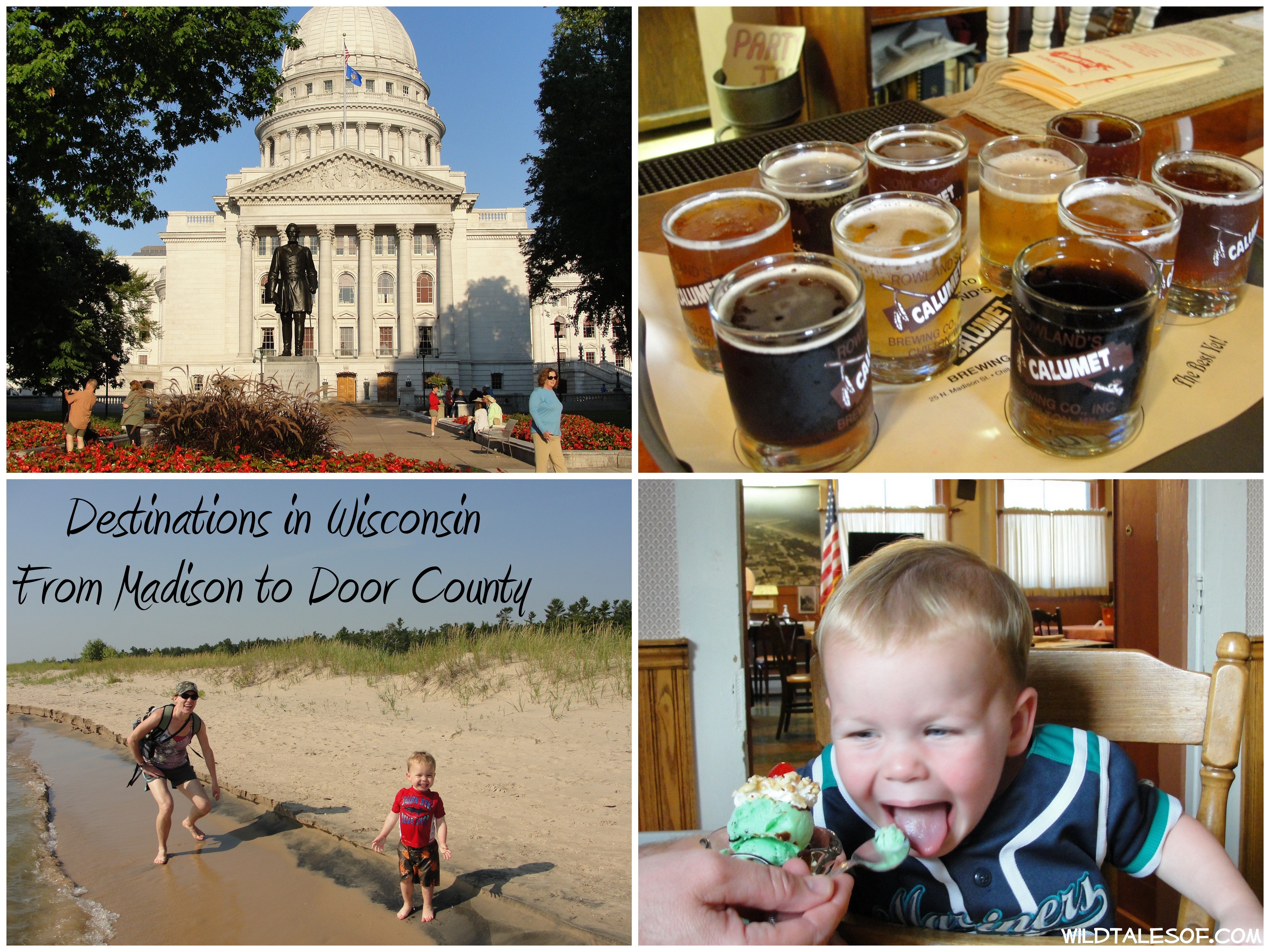 Destinations in Wisconsin: From Madison to Door County | WildTalesof.com