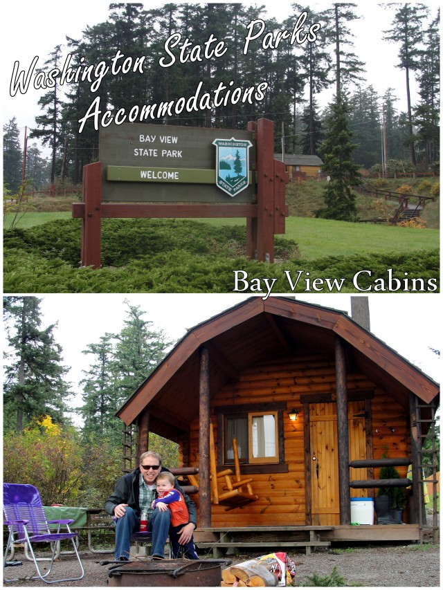Washington's State Park Accommodations: Inside our Bay View State Park Cabin | WildTalesof.com
