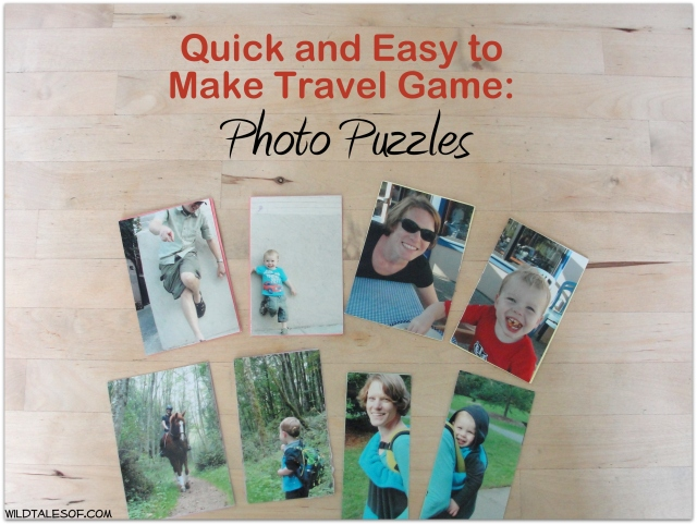 Quick and Easy to Make Travel Game: Photo Puzzles | WildTalesof.com
