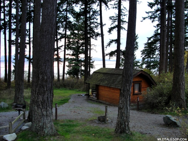 Washington's State Park Accommodations: Inside our Babyview State Park Cabin | WildTalesof.com
