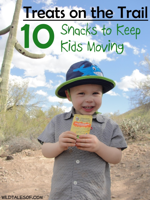 Treats on the Trail: Honey Stinger Kids' Products & Other Snack Ideas +Giveaway | WildTalesof.com