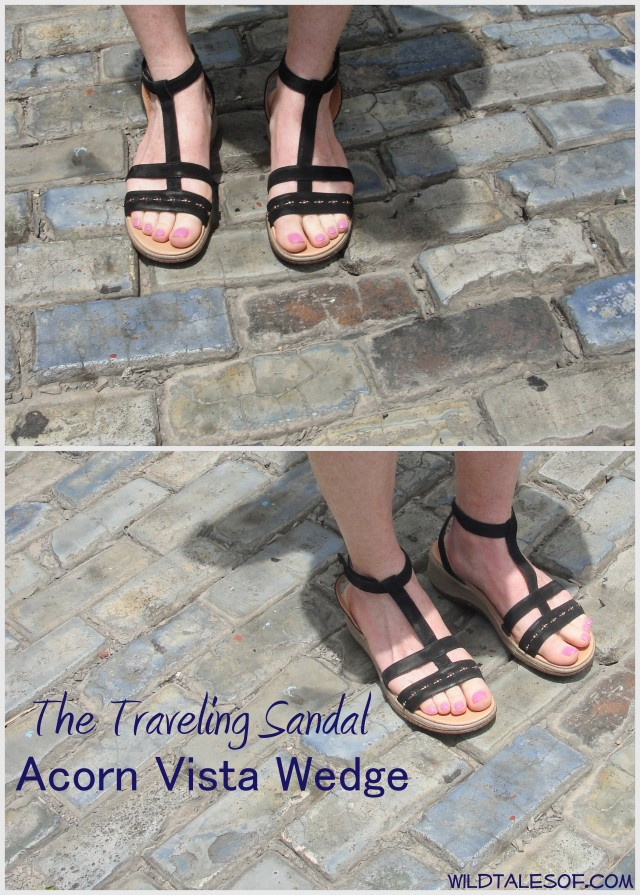 Tale of the Traveling Sandals: Acorn Vista Wedge+A Chance to Win!