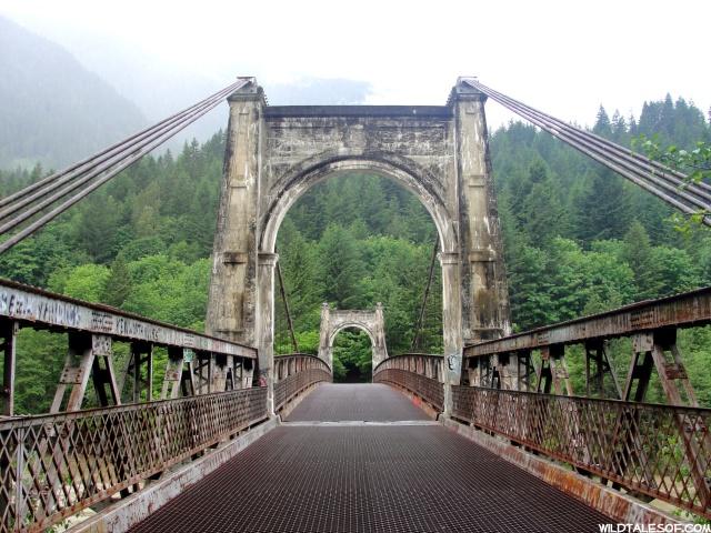 Being Brave: Crossing the Alexandra Bridge Near Hope, BC    WildTalesof.com