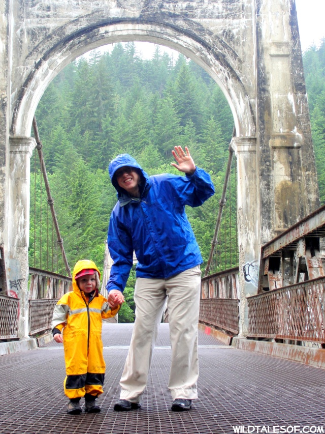 Being Brave: Crossing the Alexandra Bridge Near Hope, BC  | WildTalesof.com