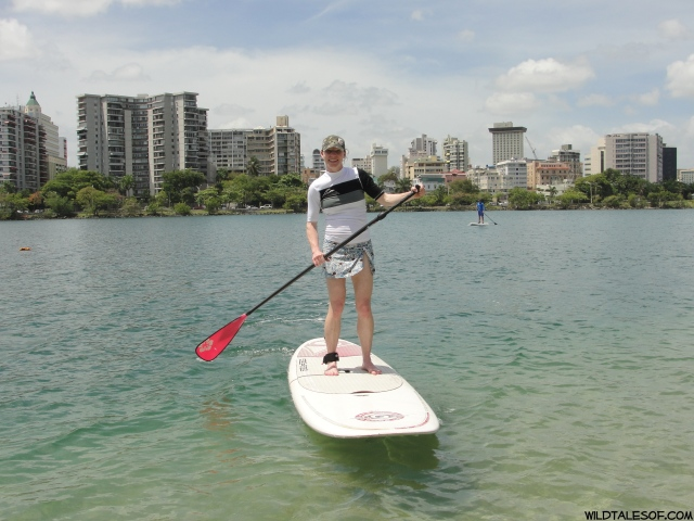 Trying New Things: Stand-up Paddleboarding in San Juan, Puerto Rico | WildTalesof.com