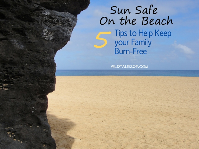 Sun Safe on the Beach: Tips to Keep Family Burn-Free | WildTalesof.com