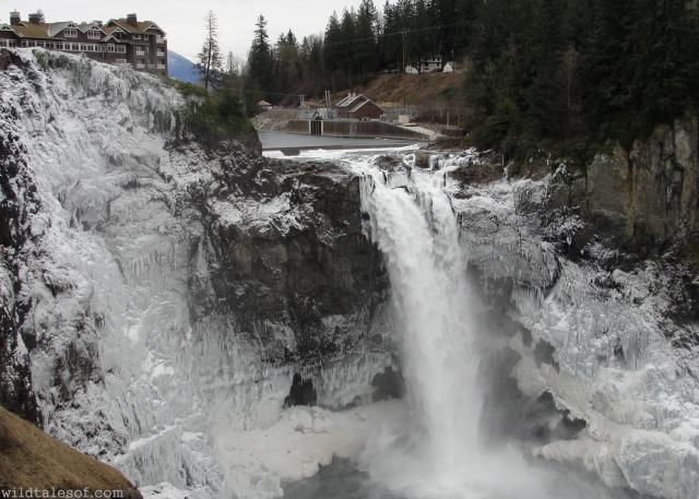 Snoqualmie Falls in Winter | WildTalesof.com
