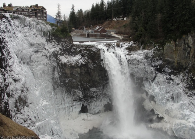 Snoqualmie Falls in Winter | WildTalesof.com