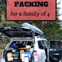 11-Day Road Trip: Packing for a Family of 4